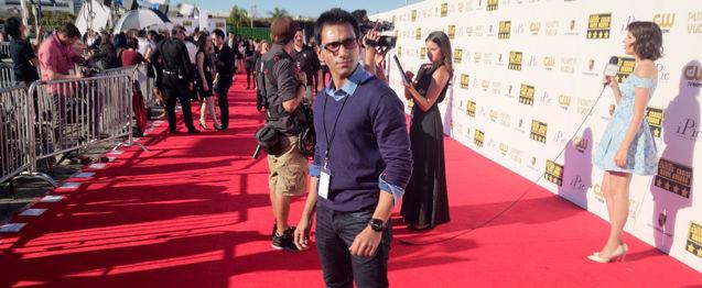 Faraz Javed at Critics Choice Awards