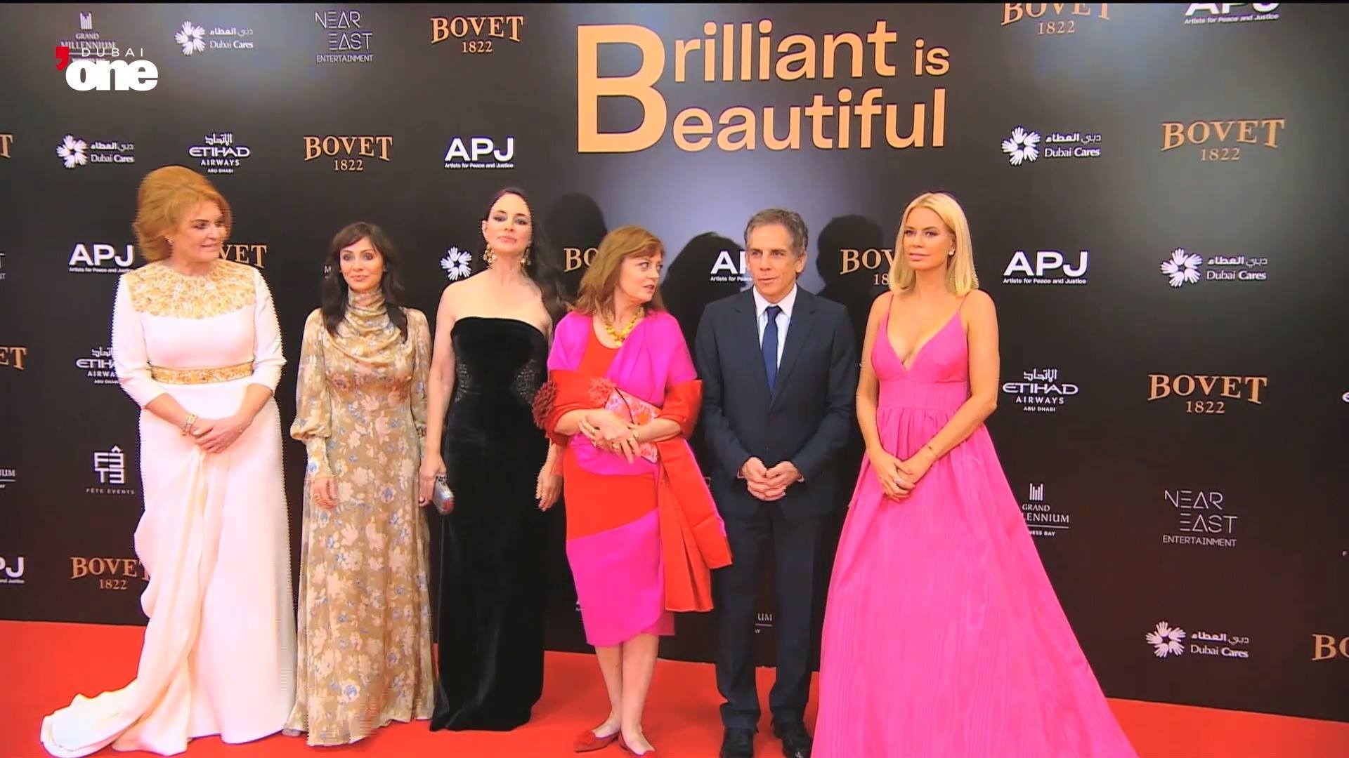 Ben Stiller talks about being human first at 'Brilliant is Beautiful' event in Dubai