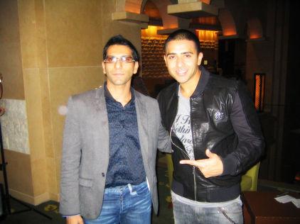 Faraz Javed with Jay Sean