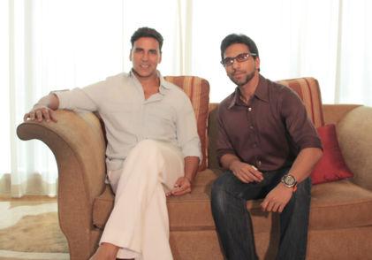 Faraz Javed with Akshay Kumar