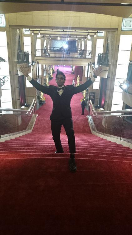 Faraz Javed at the Oscars