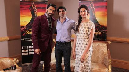 Faraz Javed with Ranveer Singh & Deepika Padukone