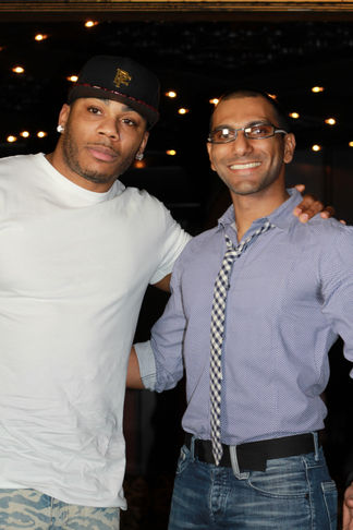 Faraz Javed with Nelly