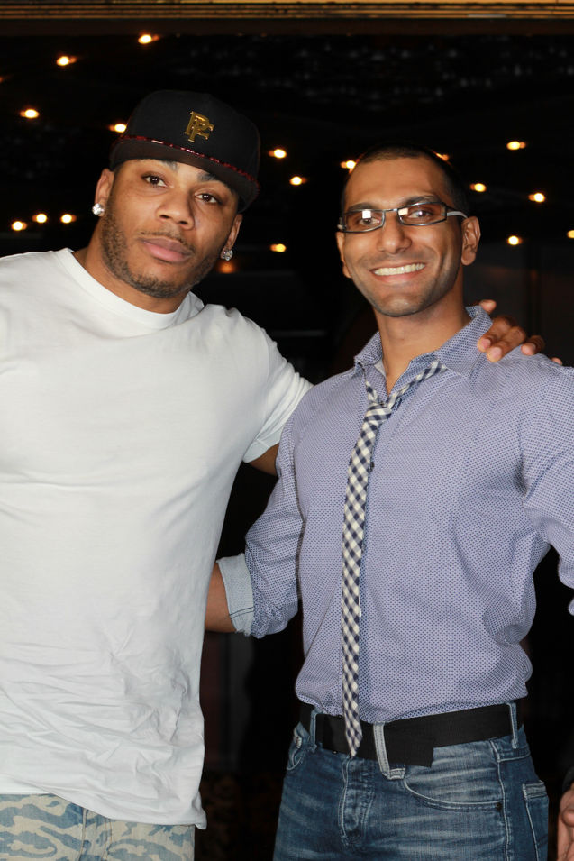 Faraz Javed with Nelly