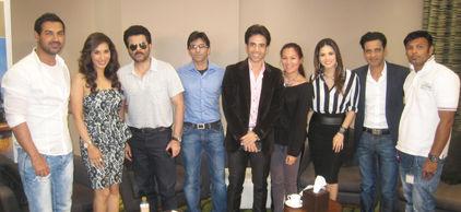 Anil Kapoor, John Abraham, Sunny Leone