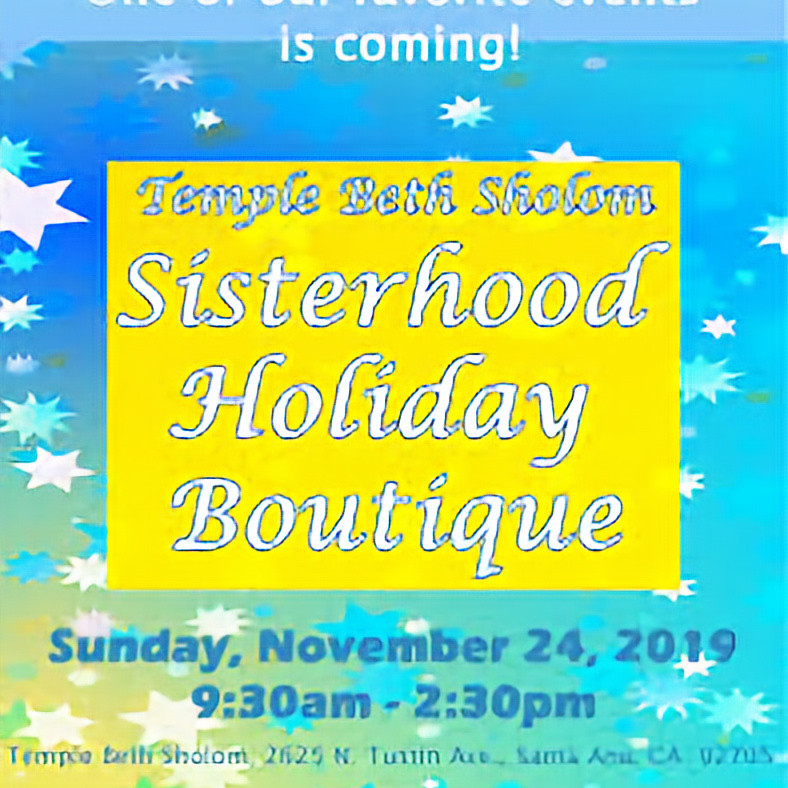 The Artsy Plant at Temple Beth Sholom Sisterhood Holiday Event
