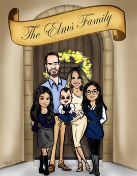 The Elms Family.