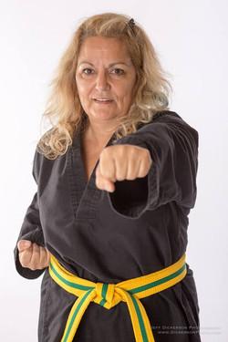 Pamela Rogers at Reeves Martial Arts & Fitness 8-2015 2.jpg