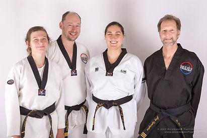 TaeKwonDo Black Belts at Reeves Martial