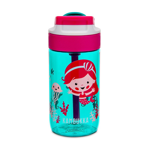 Kambukka Lagoon Kids Water Bottle (Tritan) 14oz (400ml) - Ocean Mermaid
