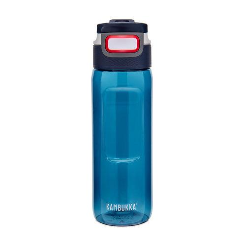 Kambukka Elton 3 in 1 Snap clean Water Bottle (Tritan) 25oz (750ml) - Mid Blue