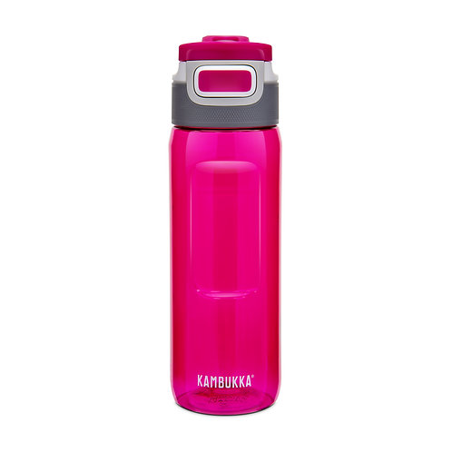 Kambukka Elton 3 in 1 Snap clean Water Bottle (Tritan) 25oz (750ml) - Lipstick