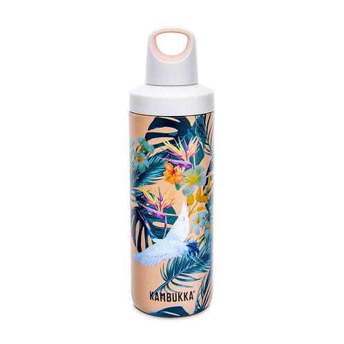 Kambukka Reno Insulated Water Bottle (SS) 17oz (500ml) - Paradise Flower