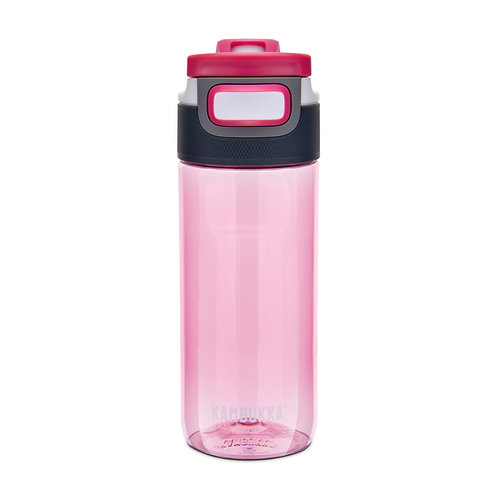 Kambukka Elton 3 in 1 Snap clean Water Bottle (Tritan) 17oz (500ml) - Pink
