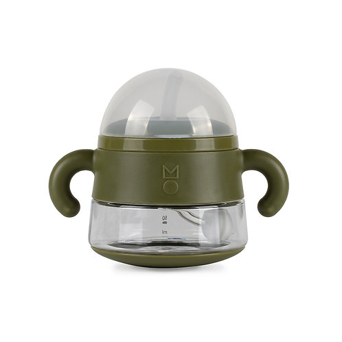 meroware ALICE sippy cup soft straw - Army