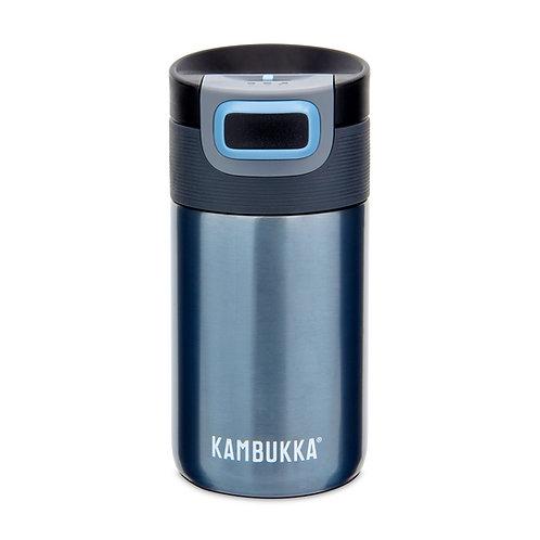 Kambukka Etna Thermal Mug (SS) 10oz (300ml) - Blue Steel