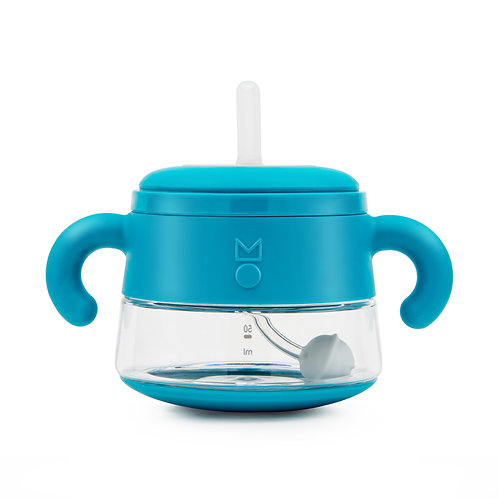 meroware ALICE sippy cup soft straw - Teal