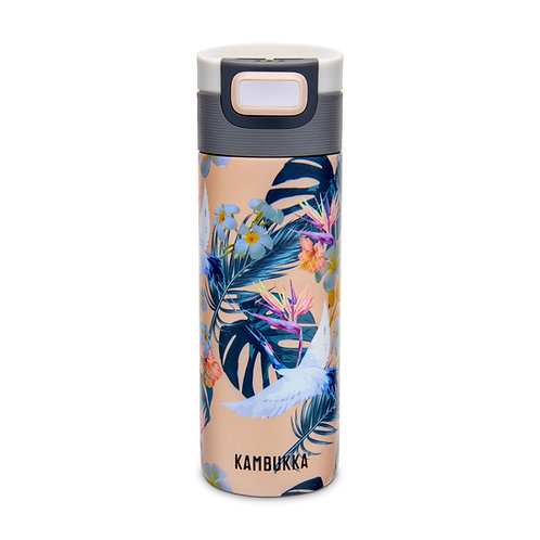 Kambukka Etna Thermal Mug (SS) 17oz (500ml) - Paradise Flower