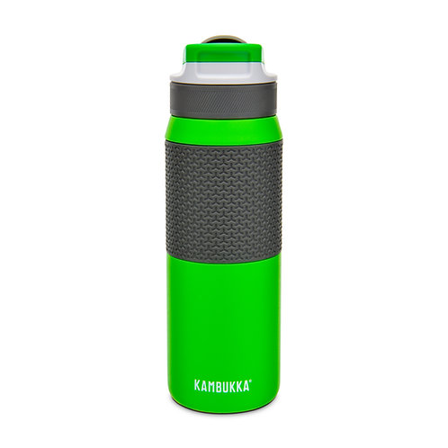 Kambukka Lagoon Insulated Water Bottle w/TPE Sleeve (SS) 25oz (750ml) - Green