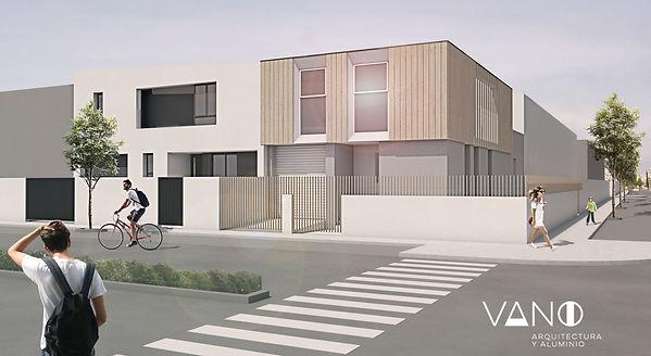 Imagen 3D de proyecto arquiectónico no realizado