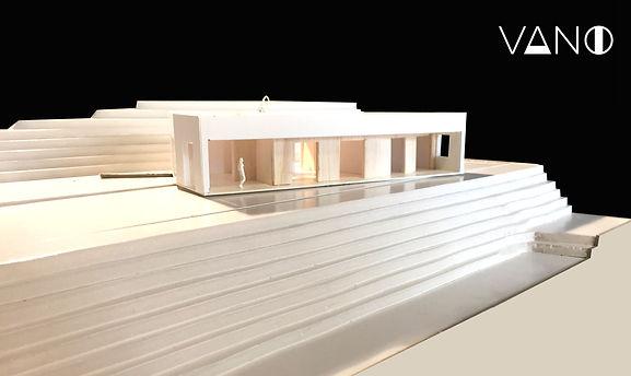 Maqueta de nuevo proyecto de arquitectura