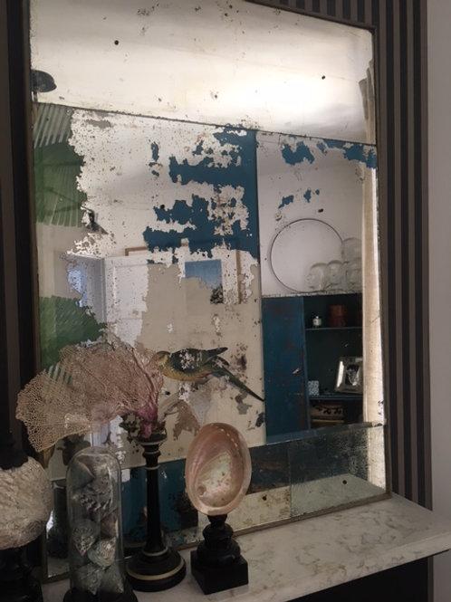 Calepinage de miroirs anciens