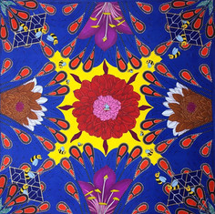 Tranquility in the kaleidoscope of life.