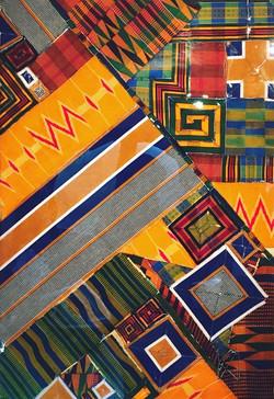Sankofa- Conforming to??? 81 x 56 cm.