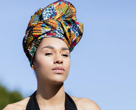 Turbante Africano Auténtic