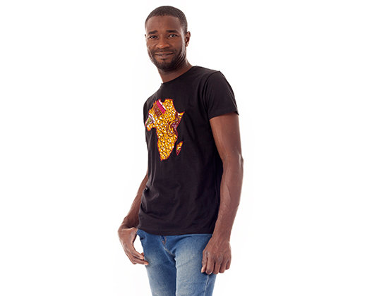 Camiseta Africa Mostaza