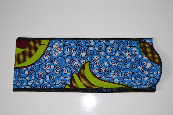 Turbantes Tela Africana Wax N.1