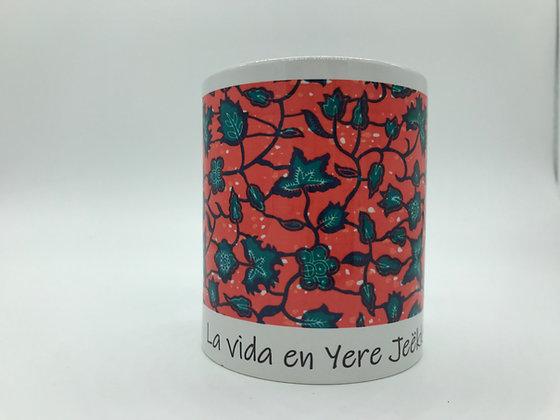 Taza de Cerámica Africana Wax Print