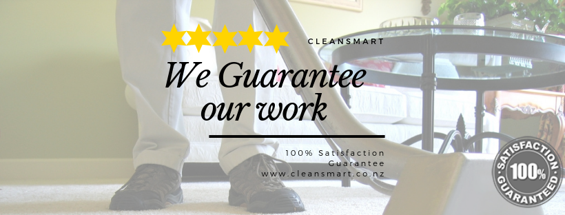 Cleansmart Guarantee our Work