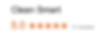 Google Reviews for Cleansmart