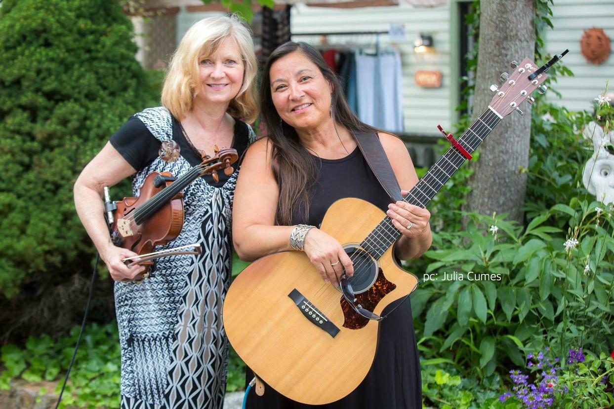Kim Moberg and Heather Johnson