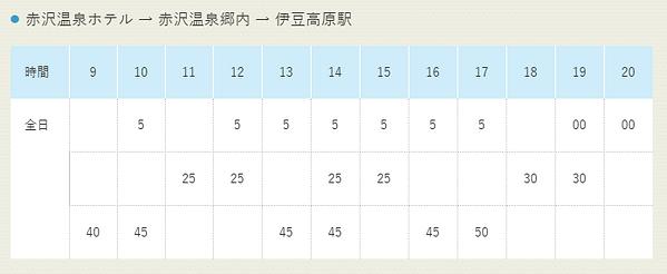 赤沢温泉ホテル 無料送迎バス 復路 時刻表.png