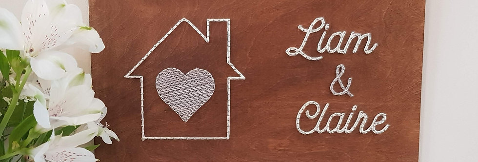 Personalised Home Sign