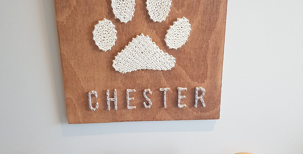 Personalised Pet Name Sign