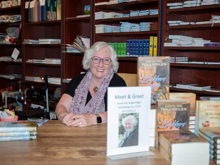 Gerda van Wageningen signeerde in Zierikzee