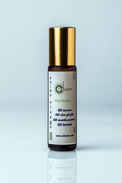 Stop-bouton aux huiles essentiels