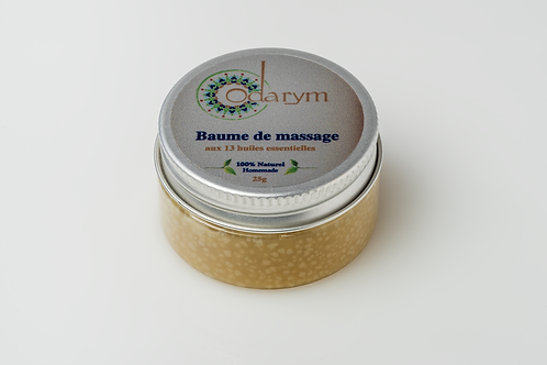 Baume de massage anti-douleur aux 13 huiles essentielles