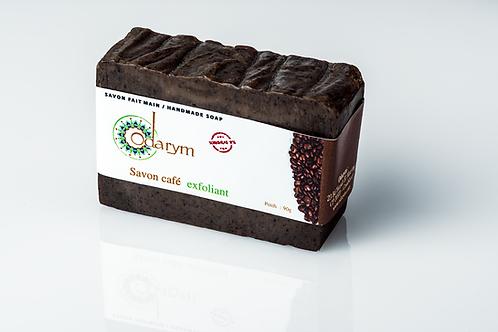 Savon exfoliant Café