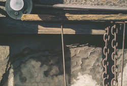 Pole Shed Motif, 20x30, 2004
