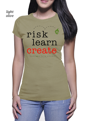 Risk Learn Create for her