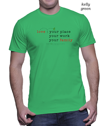 love : your place work family for him