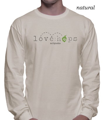 love:hops long sleeve unisex