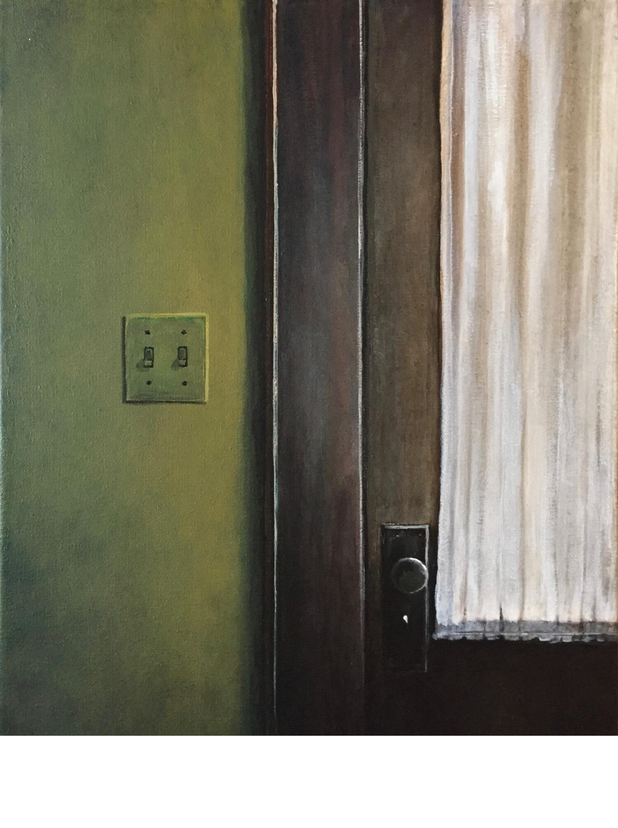 O'brien Front Door, 16x12, 2015