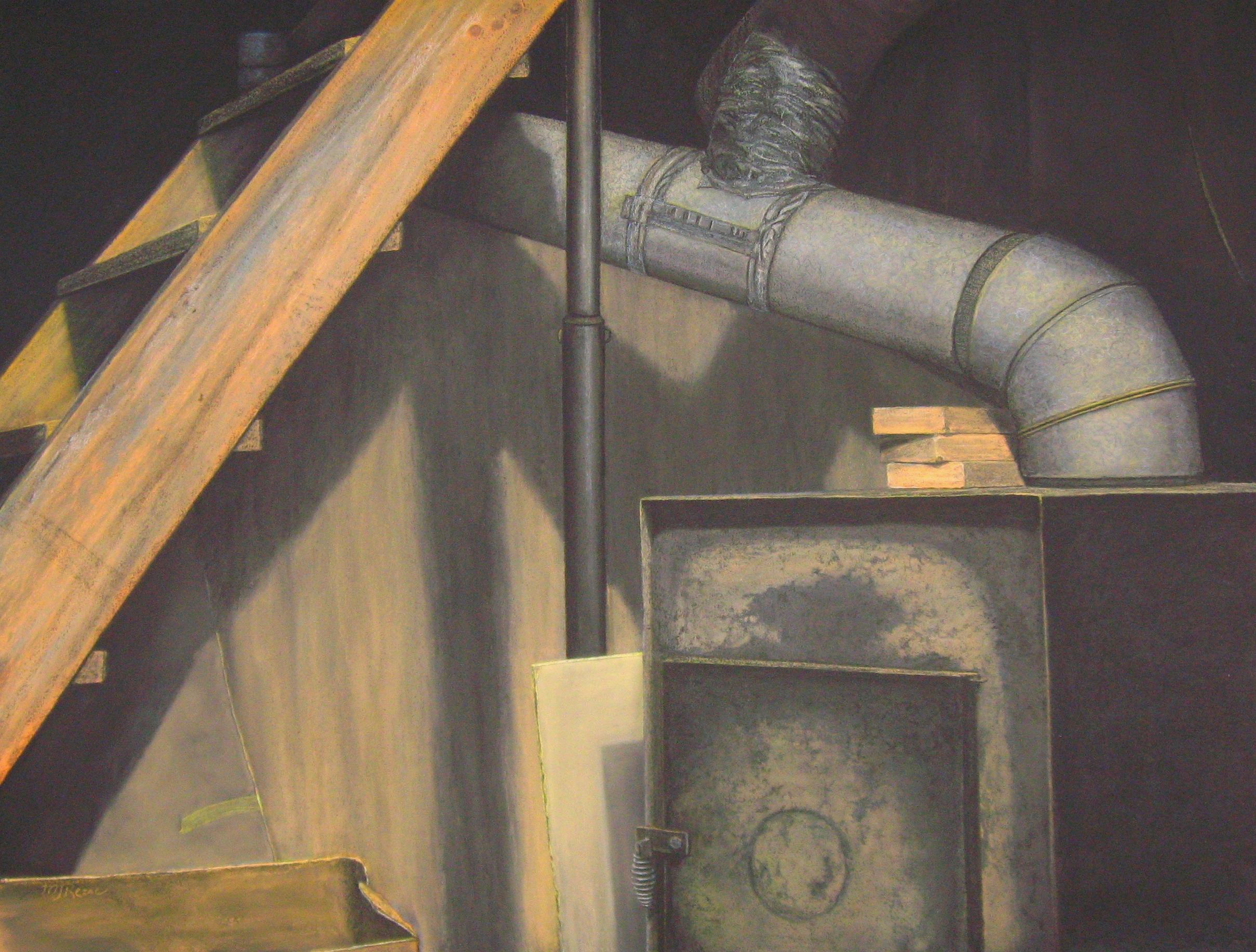 Basement, 40x30, 2010