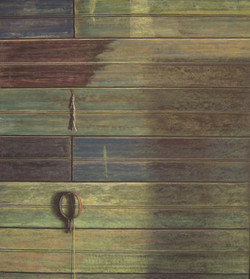 Washhouse #2, 27x24, 2011