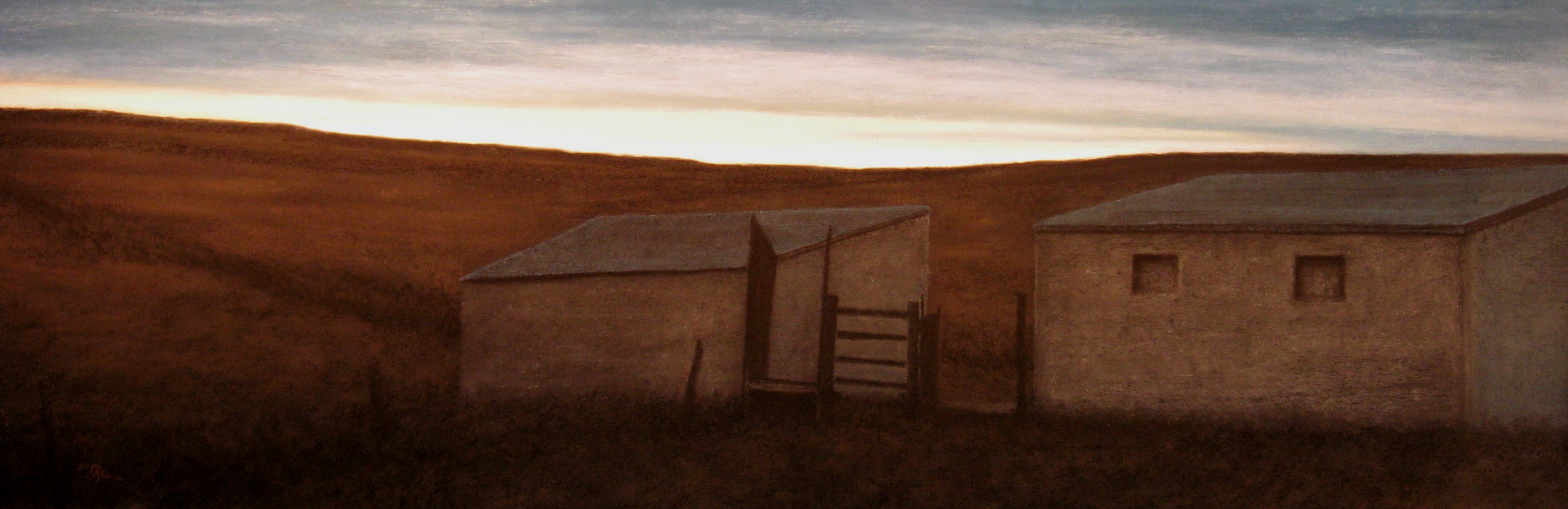Dawn, 16x48, 2008
